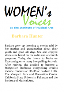 Women's voices Bio_B Hunter