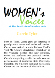 Women's voices Bio_C Tyler