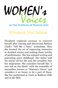 Women's voices Bio_E McClodden
