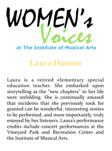 Women's voices Bio_L Duncan